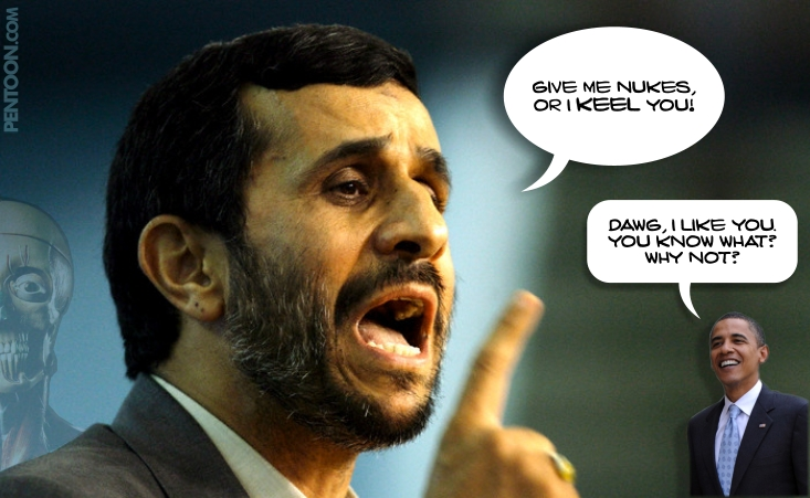 Ahmadinejad talks Obama's language